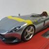BBR P18164A Ferrari Monza SP1 鈦銀色