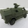 Herpa H746168 ATF Dingo Mit FLW 100 輪型裝甲車