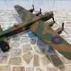 Avro Lancaster B1 蘭卡斯特夜間轟炸機  二戰英國皇家空軍塗裝