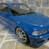 BMW E46 M3 Laguna Seca Blue 2000 Ver. 2 黑色內裝特別版