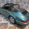 Porsche 911 Carrera 4 Targa (964) 綠松石色