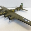Boeing B17 G 空中堡壘轟炸機 二戰美軍塗裝 歐洲戰場 1944
