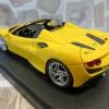 Looksmart LS511A Ferrari F8 Spider Giallo Modena 標準黃 發表車