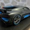 Looksmart LS497A Bugatti Divo   The Quail 消光深鐵灰 2018 發表車