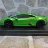 Looksmart LS517B Lamborghini Huracan Evo RWD  Verde Selvans 金屬綠
