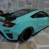 Honda NSX Customized Car By LB-Works  Tiffany Blue