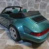 Porsche 911 Convertible Turbo Look (964)  Wimbledon Green Metallic 溫布頓綠