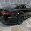 Mercedes S Class Coupe Prior Design PD75 SC  Obsidian Black 曜石黑
