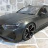 Audi RS6 Avant (C8) 2020 Mat Daytona Gray 消光深鐵灰