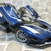 MINICHAMPS / BBR聯名 MCBBR182284 Ferrari Fxx-K Evo. 法國藍 27號