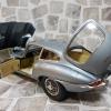 Jaguar E-Type (RHD) Coupe 60周年紀念 子彈灰