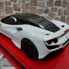 MR Ferrari F8 Tributo Bianco Cervino / Nero DS 雙色系列特別版