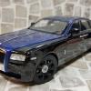 Rolls Royce Ghost 鑽石黑 / 深藍 雙色 黑鋁圈
